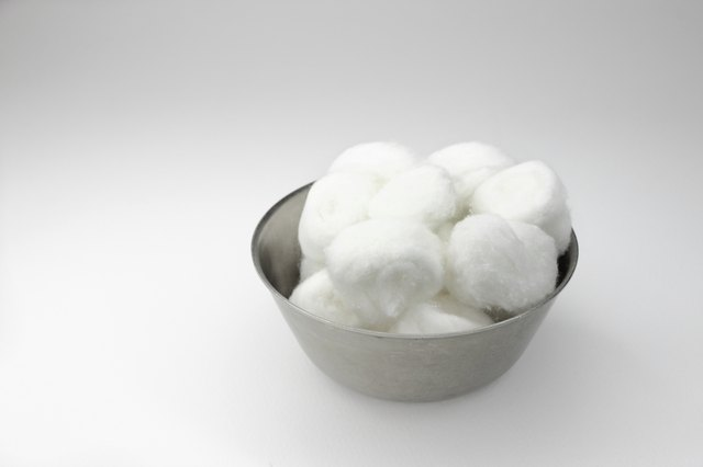 Use witch hazel or patchouli on a cotton ball.