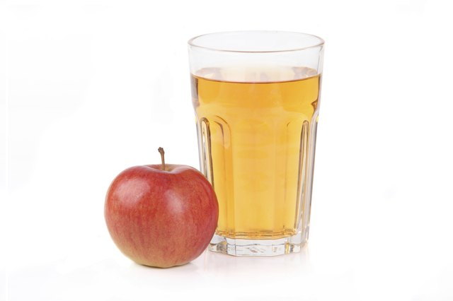 Eat an apple over drinking apple juice.