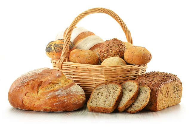 Bread is often fortified with iron to help meet your daily requirement.