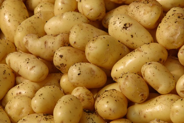 A \single large potato with skin has 3.2 milligrams of iron.