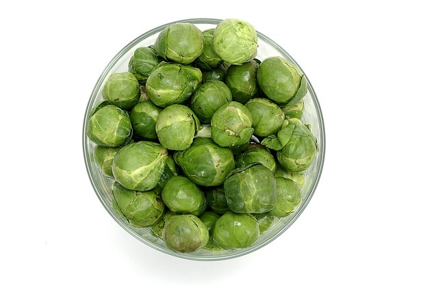 Bowl of brussel sprouts.