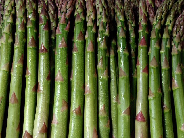 Asparagus has high levels of purine.