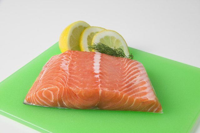 Salmon is being genetically engineered.