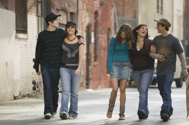 Increased peer identification during adolescence may create a chasm between families and teens.
