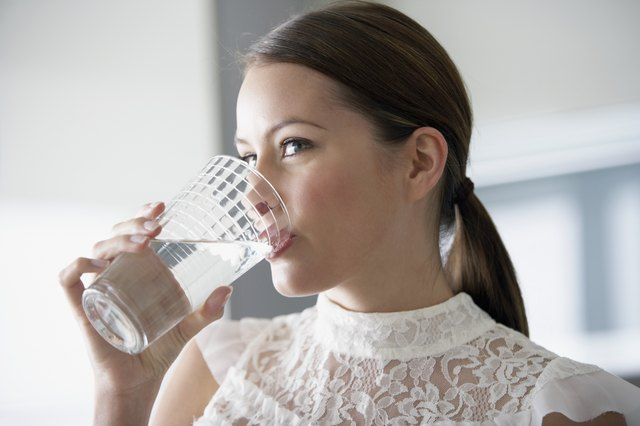 Drink more water to suppress your appetite.
