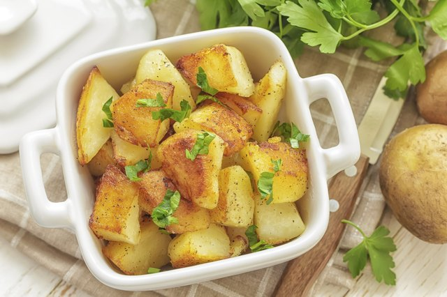 "potatoes are a ""starchy carbohydrate"""
