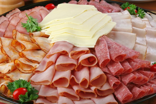 Sliced lunch meats are high in sodium.