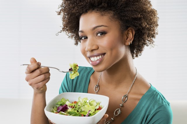 Consumer smaller meals more frequently throughout the day.