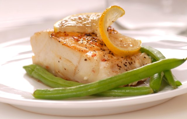 what types of fish are low in fat livestrong com