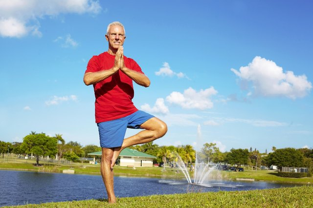 Beginning Yoga for Seniors   LIVESTRONG.COM