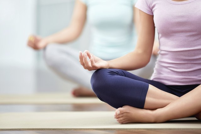 Yoga reduces stress and anxiety.