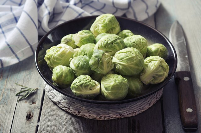 the majority of vegetables including Brussels sprouts are high in insoluble fiber