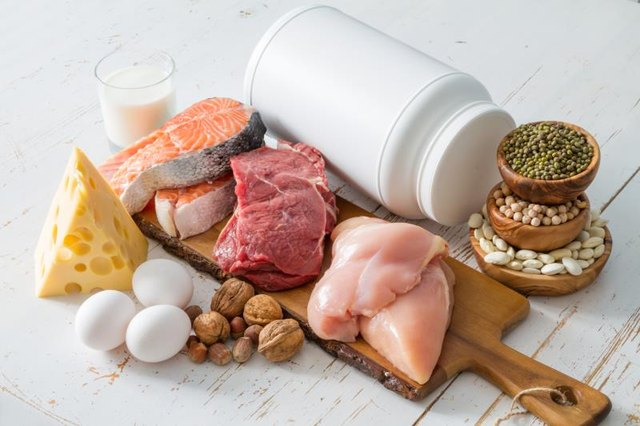 The right amount of protein will keep you fuller longer.