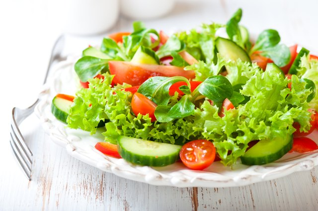 Iron is found in red meat, cereals and dark leafy vegetables.