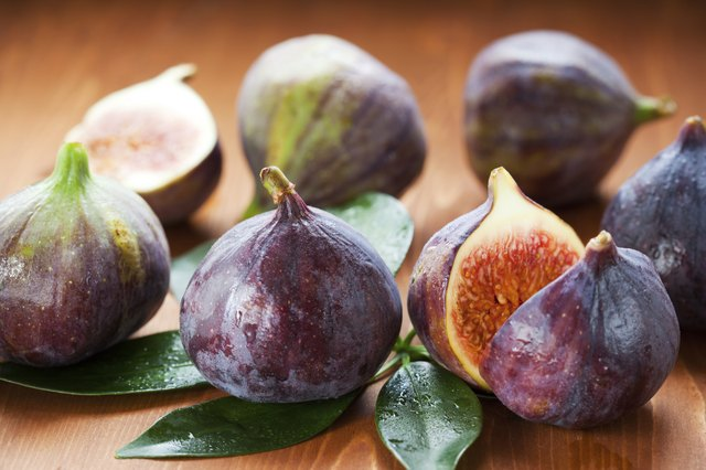 Figs are a high-fiber fruit.