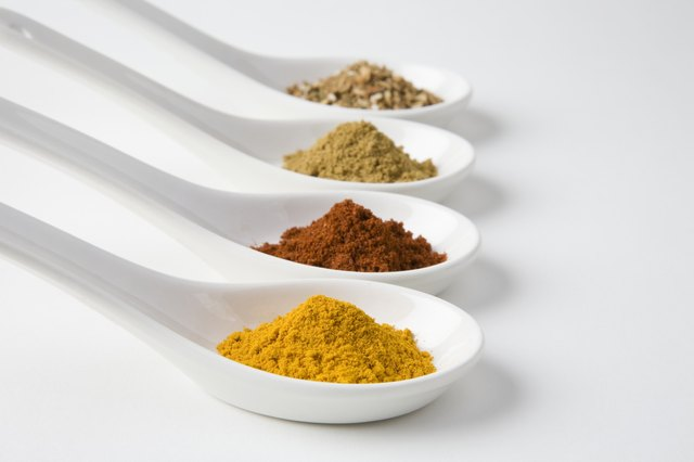 Curry spices.