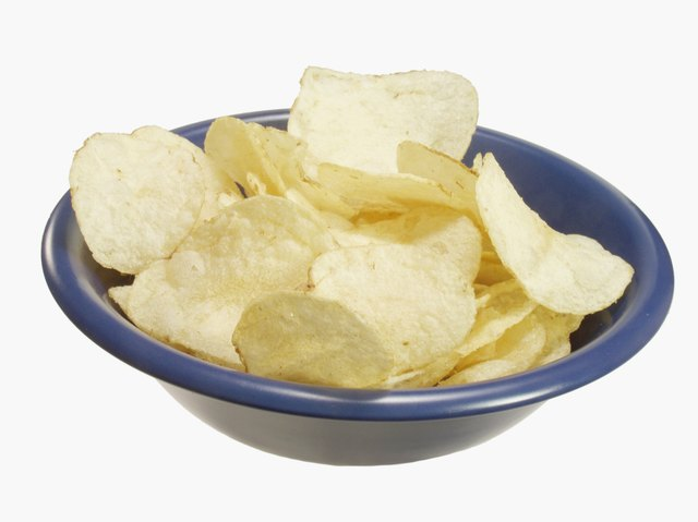 Potato chips can contain gluten.