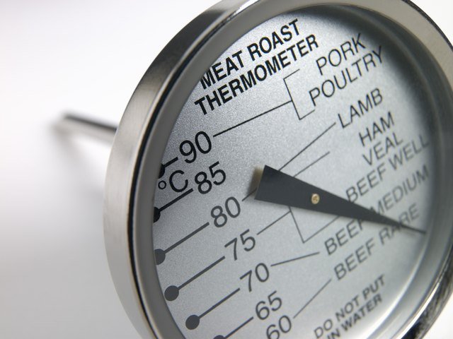 Use a meat thermometer to make sure your meat is cooked to the correct doneness.