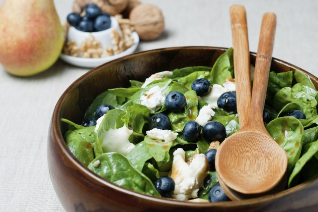 small spinach salad
