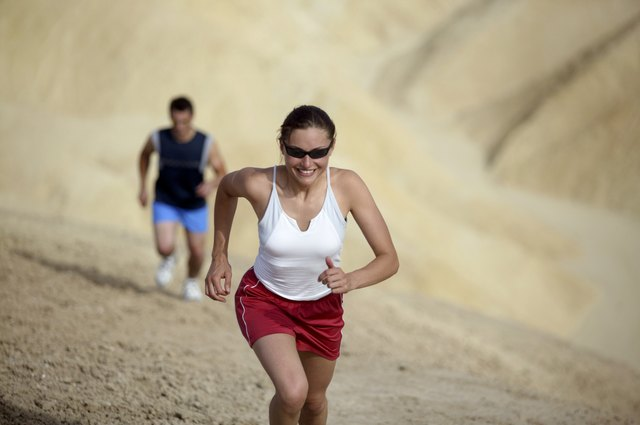 Avoid running uphill if you feel extremely fatigued or sore.