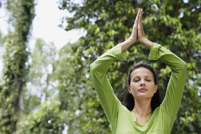 Yoga asanas make you look taller by improving your posture.
