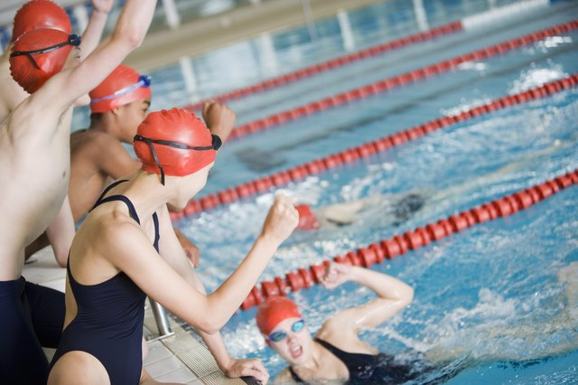 Swimming and water aerobics provide the same type of cardiovascular workout as aerobic exercise on land.