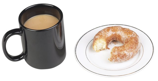 A hot, caffeinated beverage and high-sugar donut will likely irritate those with colostomies.