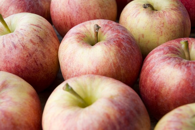 apples are low on the glycemic index