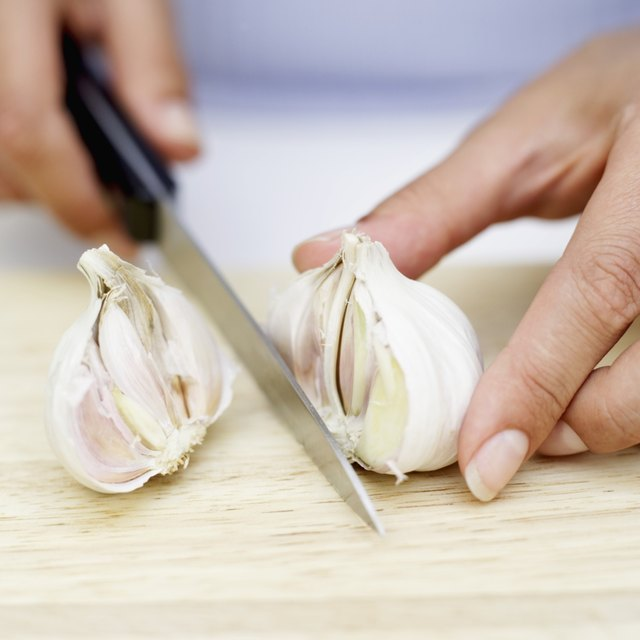Garlic is a very pungent food that not only affects the smell of your breath and your sweat, but can also alter urine smell.