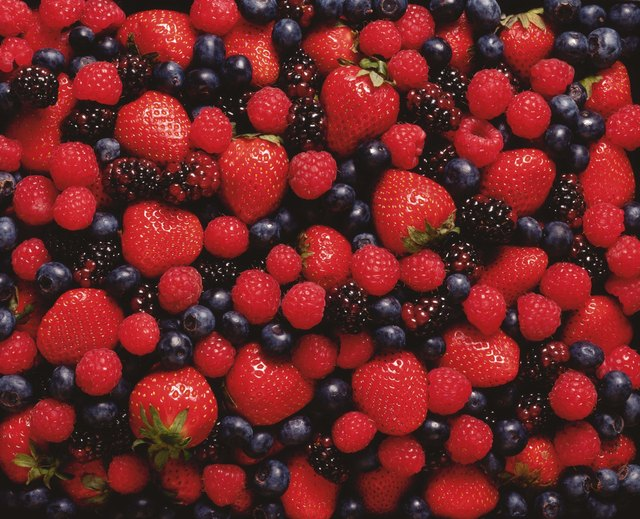 Berries are a rich source of fiber and antioxidants.