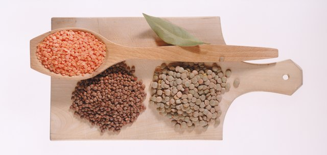 Lentils have a low GI.