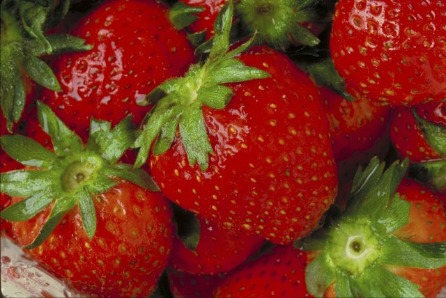 Strawberries are useful for polishing teeth.