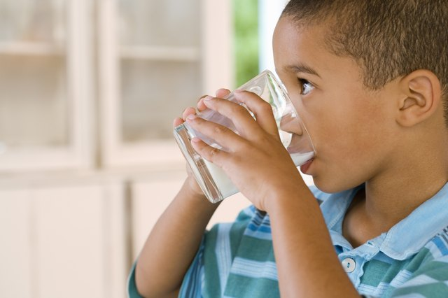 Milk is an important player in a child's bone health