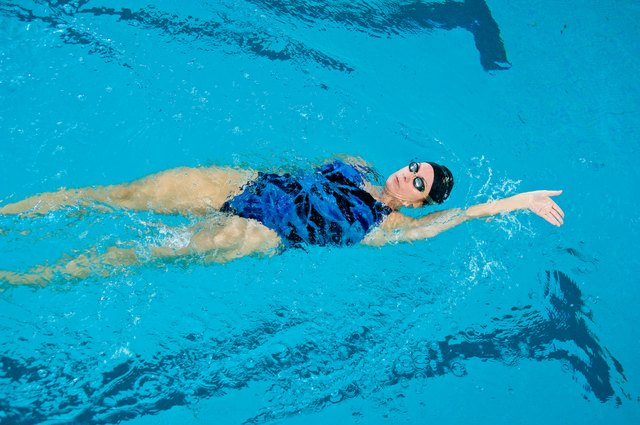 Swimming may reduce back pain.