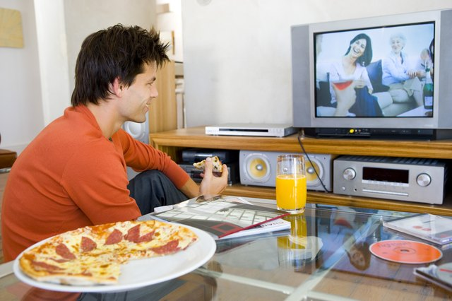 Pay attention to the drinks and snacks you consume throughout the day, especially when watching television.