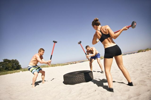 Take your CrossFit workout to the beach.