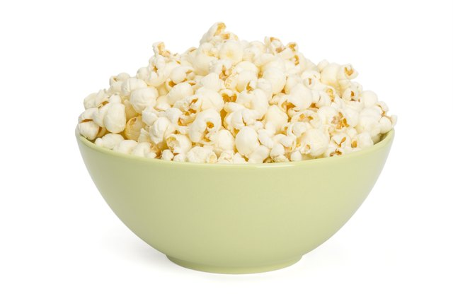Popcorn is a low glycemic snack.