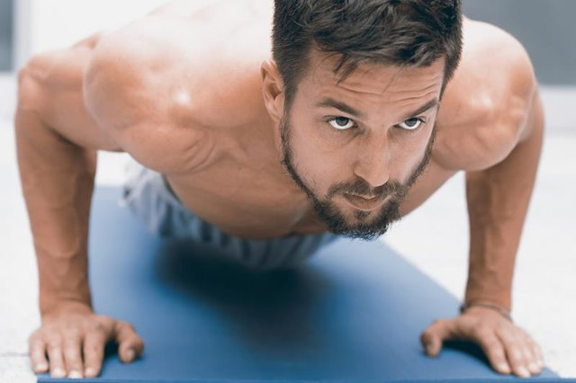 The average number of push-ups varies by organization.