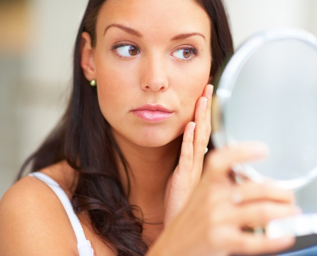 Iron deficiency can lead to dark-under-eye circles.