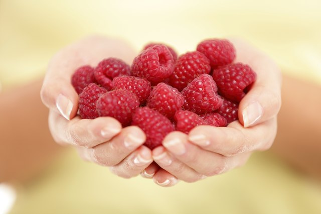 raspberries are a top source of insoluble fiber