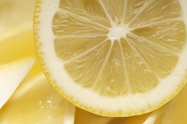 Lemon can wear down the enamel on your teeth over time.