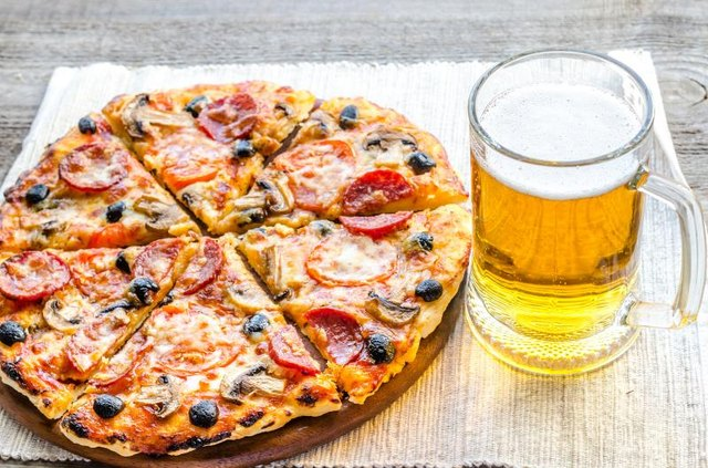 You won't earn pizza and beer with 100 push-ups.