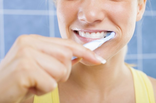 It is important to brush teeth regularly to keep dry mouth away.