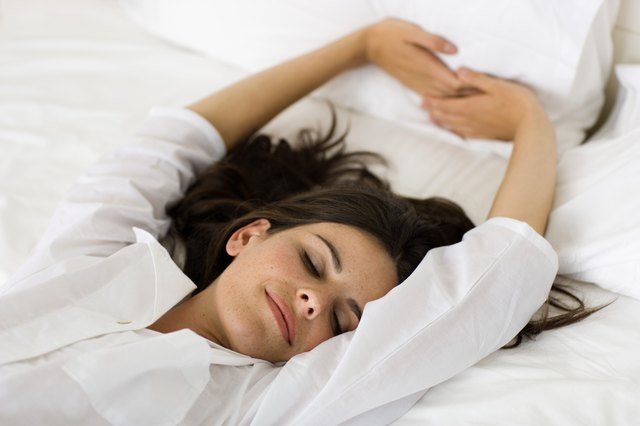 Your body needs about eight hours of sleep in order to operate at optimal levels.