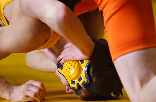 Wrestlers often engage in unhealthy weight-loss practices to qualify for less-competitive and lower weight class.