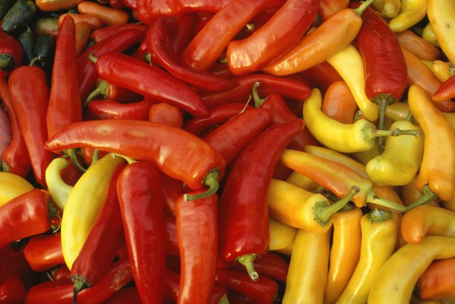 The heat of peppers is measured in Scoville units.