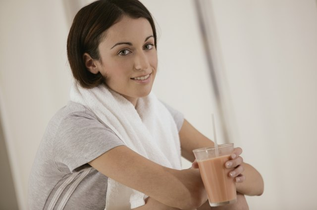 Check the label of your protein powder to be sure the shake contains fewer than a few grams of carbs.