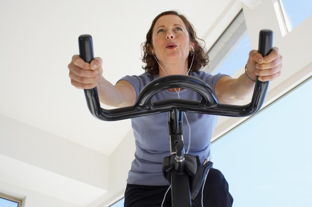 Start slow and work up a hard exercise routine.