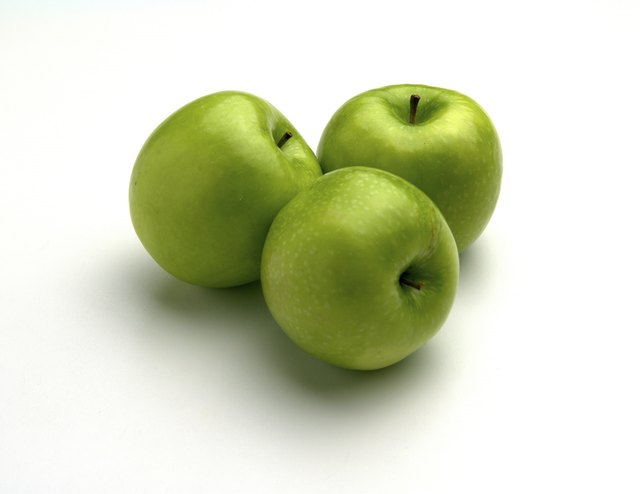 Apples have natural probiotics.