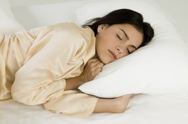 Diet and exercise can help you sleep better.